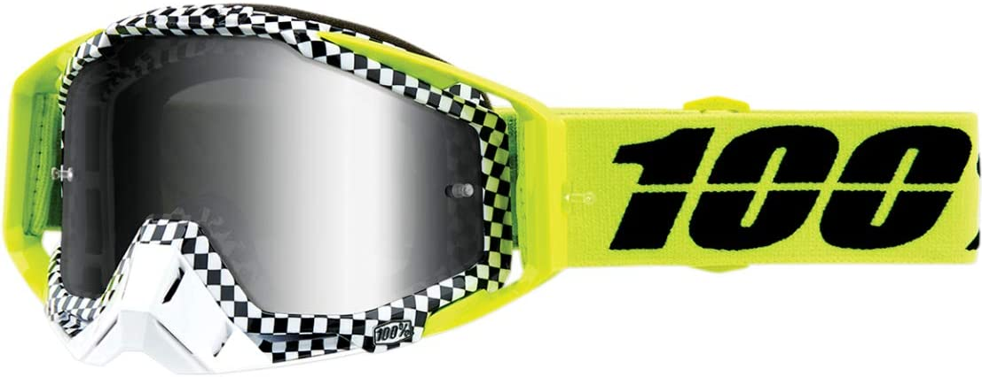 100% Racecraft Goggles - Andre w/Silver Lens