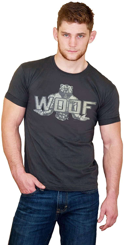 Ajaxx63 Men's AF Woof Bear T-Shirt