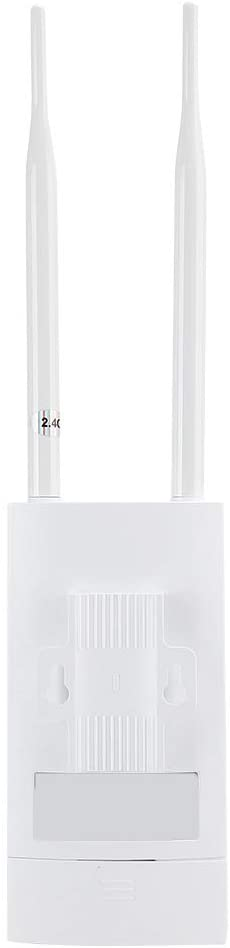 Dpofirs EW71 Dual Band Wireless WiFi Router, High Speed Smart Routers for Home Internet, Router with Two External Antennas with 360 Degree Omnidirectional Coverage(White)