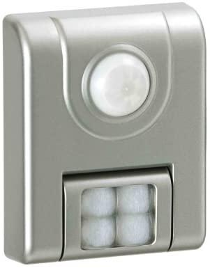 Light It! By Fulcrum, 4-LED Wireless Motion Sensor Light, Battery Operate, Silver