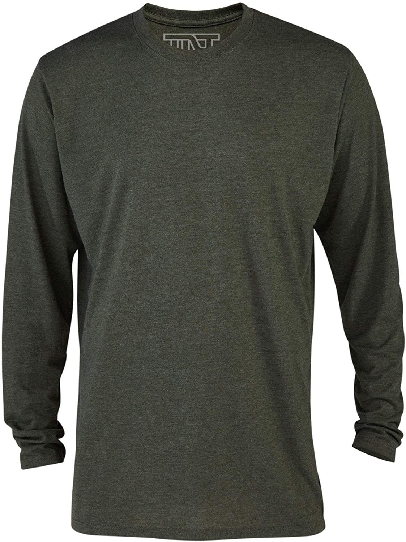 TNT Men's Long Sleeve Casual Tri-Blend Tee Shirt