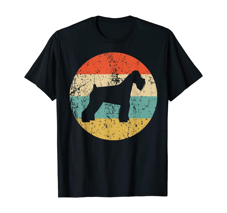 Schnauzer Shirt - Vintage Retro Schnauzer Dog T-Shirt