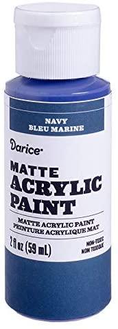 Darice Matte Navy, 2 ounces Acrylic Paint