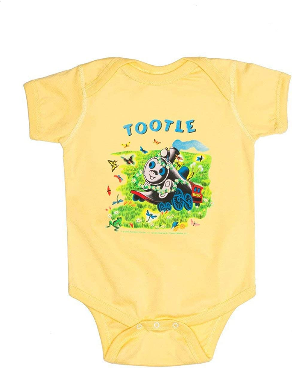 Out of Print Little Golden Books Tootle Unisex Baby Bodysuit 24 Months