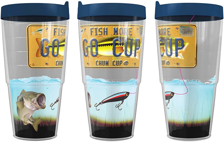 Go Cup - Bass - Chum Cup 24 ounce Tervis Classic Tumbler