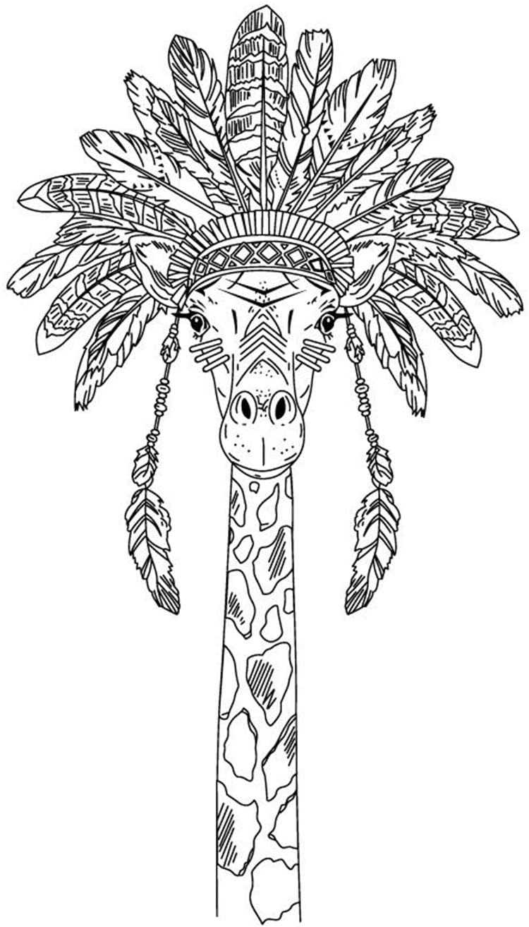 Animal Giraffe Stamp Rubber Clear Stamp/Seal Scrapbook/Photo Album Decorative Card Making Clear Stamps