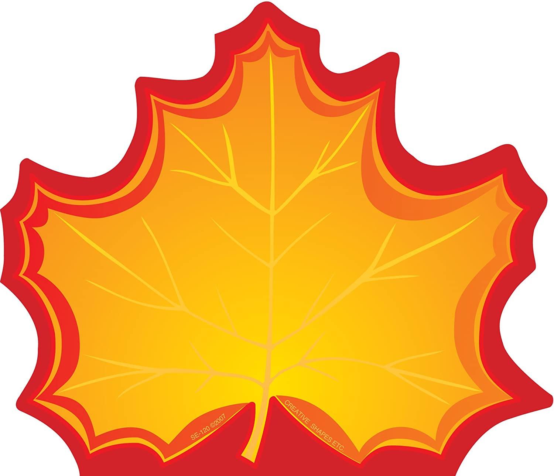 SHAPES ETC. Maple Leaf Large Notepad