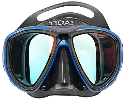 Pro Shot Tidal Mask - Advanced Anti-Fog Snorkel Mask for Snorkeling, Swimming, and Scuba Diving with Wide-Angle Tempered Glass Lens, and Best Anti-Fog Technology