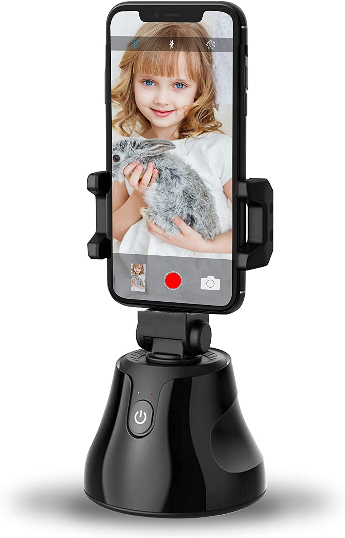 Selfie Stick CNSL 360°Rotation Auto Face & Object Tracking Smart Shooting Camera Phone Mount, Vlog Shooting Smartphone Mount Holder