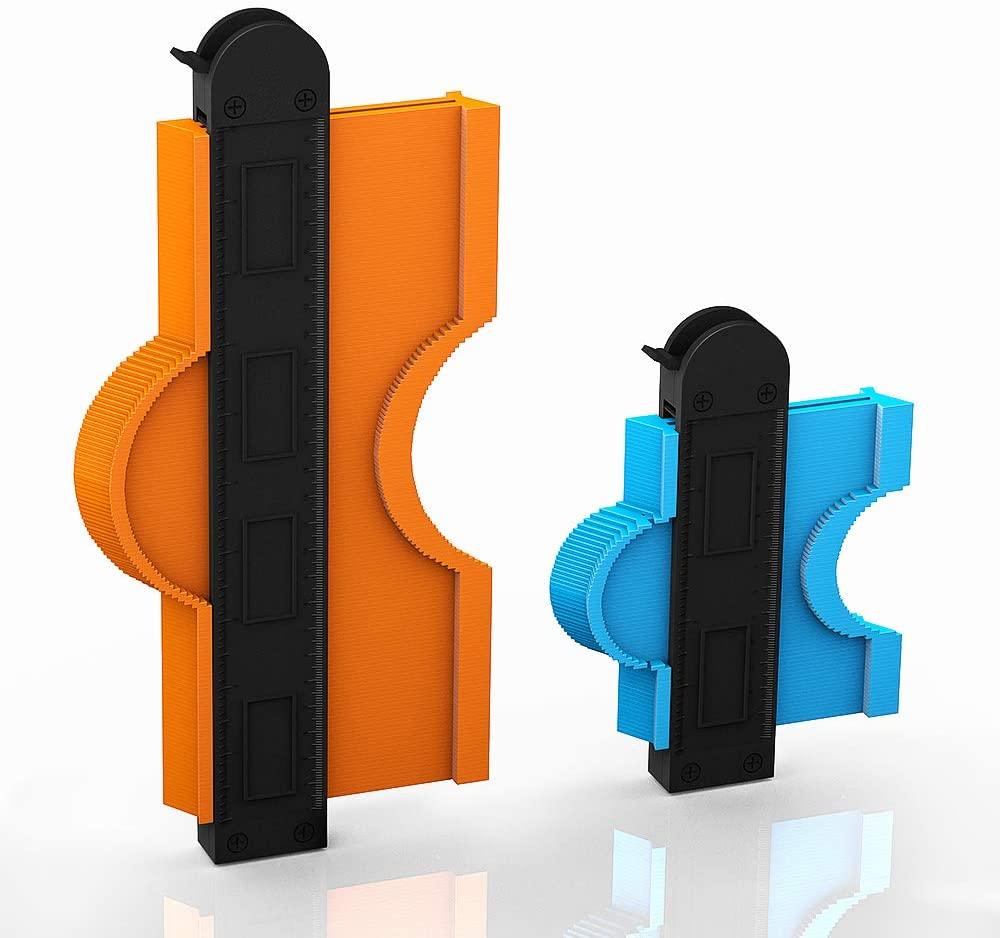 Contour Gauge Duplicator with Lock,Adjustable Lock Widen Shape Duplication Gauge Tool 5