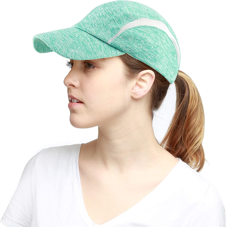 The Hat Depot Baseball Hat Light Weight Running Mesh Outdoor Low Profile Cap
