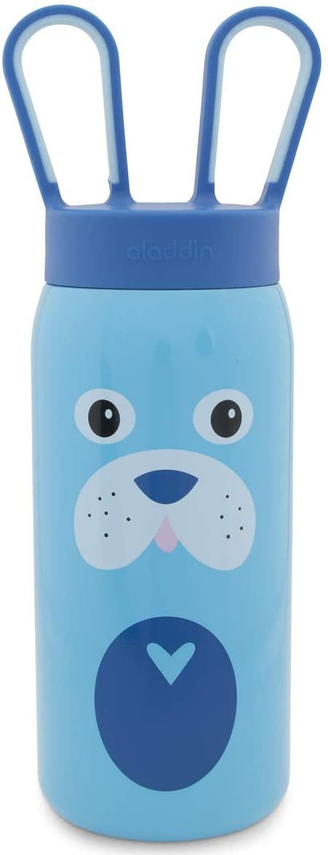 Aladdin 16 oz Stainless Steel Water Bottle Kids Girls Boys BPA Free for Kids Cute Animals Unique Water Bottle Screw Top