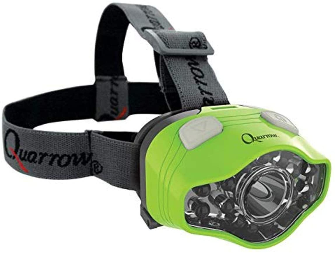 Quarrow 100 Lumen Headlamp | Adjustable LED & UV Lighting for Night Fishing