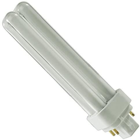 (8 Pack) PLC-18W 835, 4 Pin G24q-2, 18 Watt Double Tube, Compact Fluorescent Light Bulb, Replaces Sylvania 20672 - CF18DD/E/835/ECO and Philips 38332-3- PL-C 18W/835/4P/ALTO