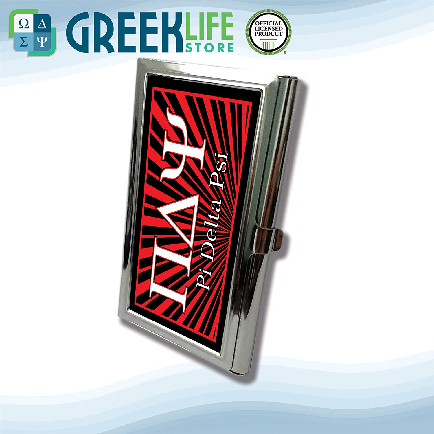 Pi Delta Psi Business Card Holder Stainless Steel