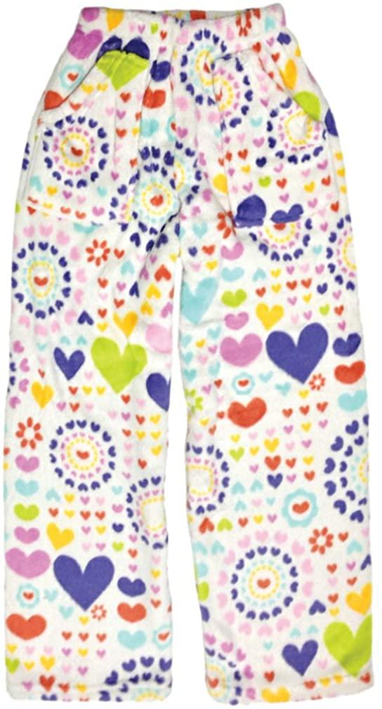 iscream Big Girls Premium Plush Fleece Pants - Summer Fun Collection