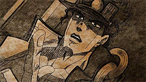 Colorful JoJos Bizarre Adventure Anime Wall Decoration Poster Art Prints 50 x 70 cm,No Frame