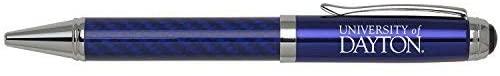 Carbon Fiber Ballpoint Twist Pen - Dayton Flyers