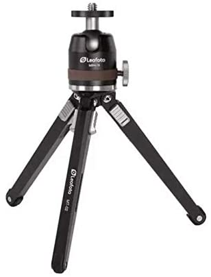 Leofoto MT-02 + MBH-19 Mini Table Tripod and Ball Head for DSLR and iPhone Photography