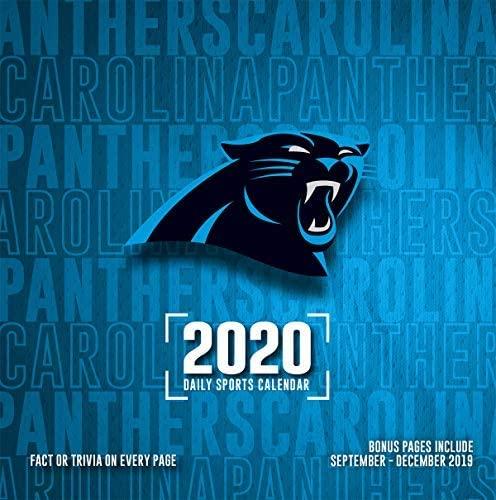 Turner Licensing, 2020 Carolina Panthers Desk Calendar