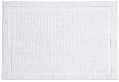 Grund Certified 100% Organic Cotton Bath Mat, Charleston Series, 24-Inch by 40-Inch, White
