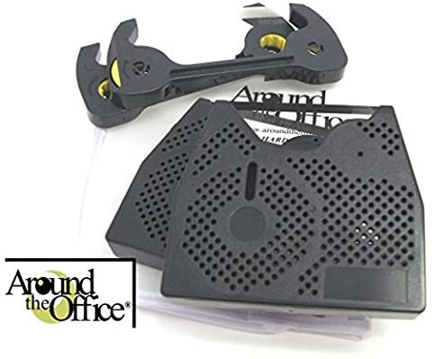 Around The Office Compatible Smith Corona Typewriter Ribbon & Correction Tape for XL 1900.This Package Includes 2 Typewriter Ribbons and 2 Lift Off Tapes