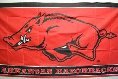 NCAA Arkansas Razorbacks 3-by-5-foot Flag