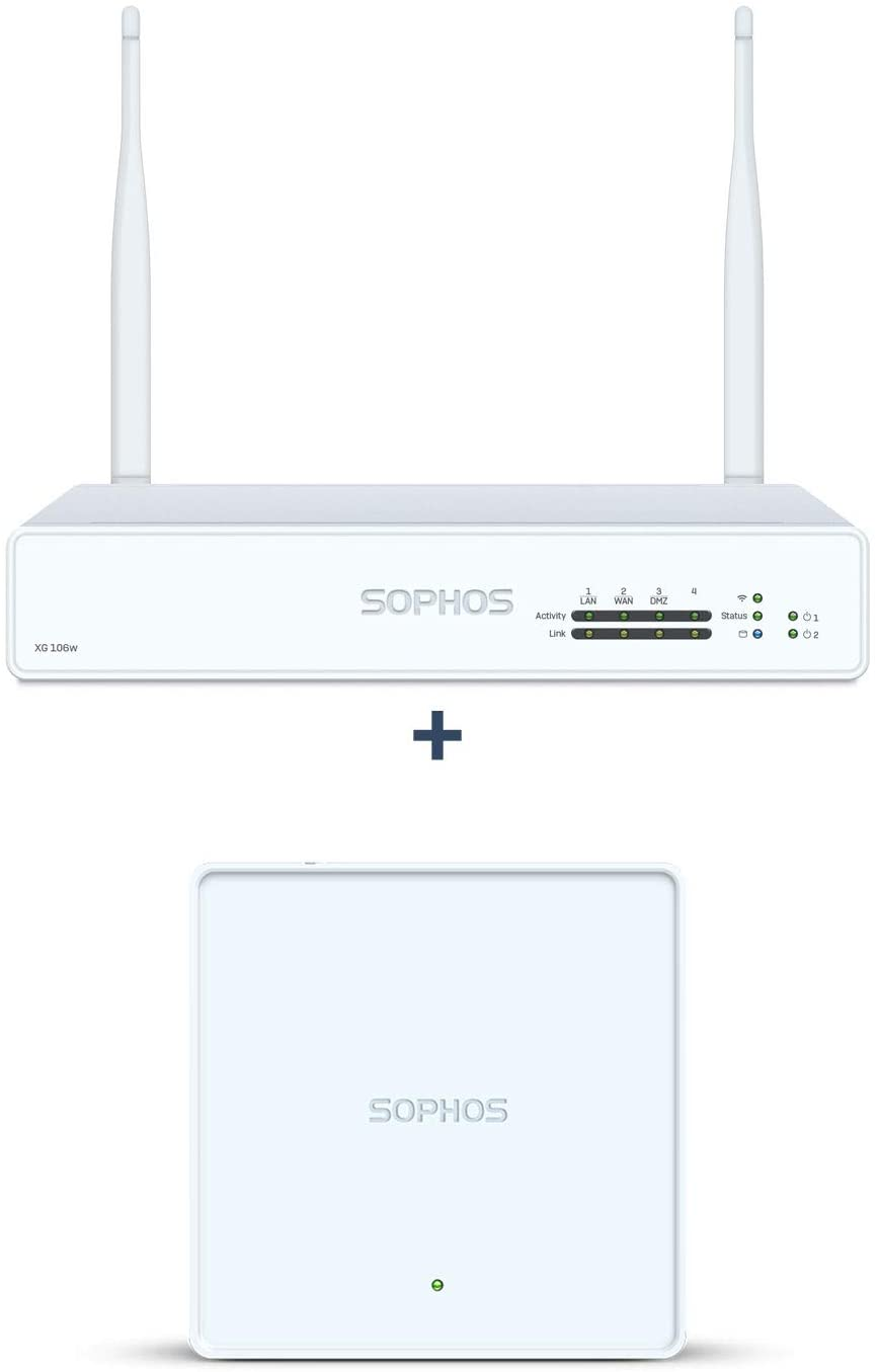 Sophos XG 106W rev.1 Firewall Bundle with APX 320 (3-Pack) Access Point (XW1ZTCHEK+A320TCHNF)