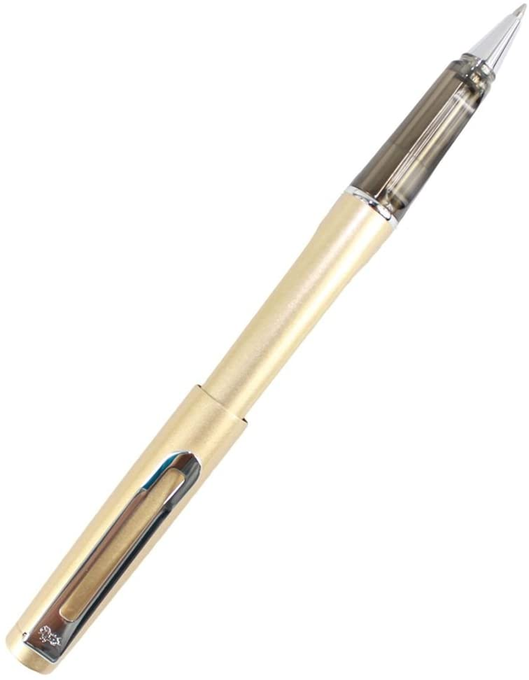 Gullor Light Rollerball Pen with Spiral Refill - Light Goden