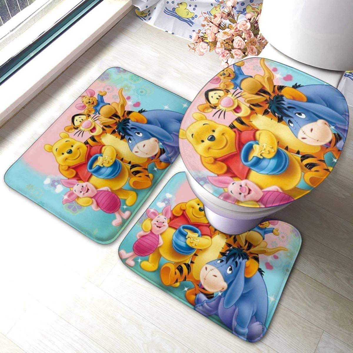 Win-Nie The Pooh Comfort Flannel Bathroom 15.7