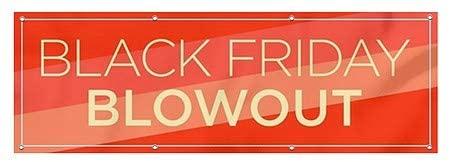CGSignLab |Black Friday Blowout -Modern Diagonal Heavy-Duty Outdoor Vinyl Banner | 6x2