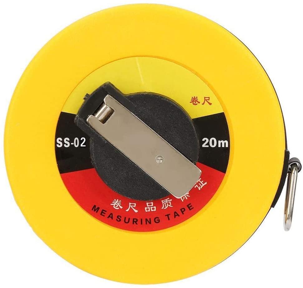 Beennex 20m Site Measurement Fiberglass Tape Measure Soft Rulers Building Surveying Measuring Tool