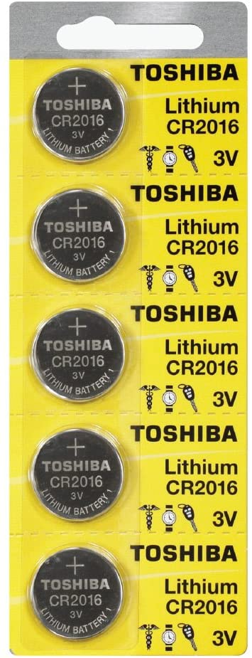 Toshiba CR2016 Battery 3V Lithium Coin Cell (1000 Batteries)