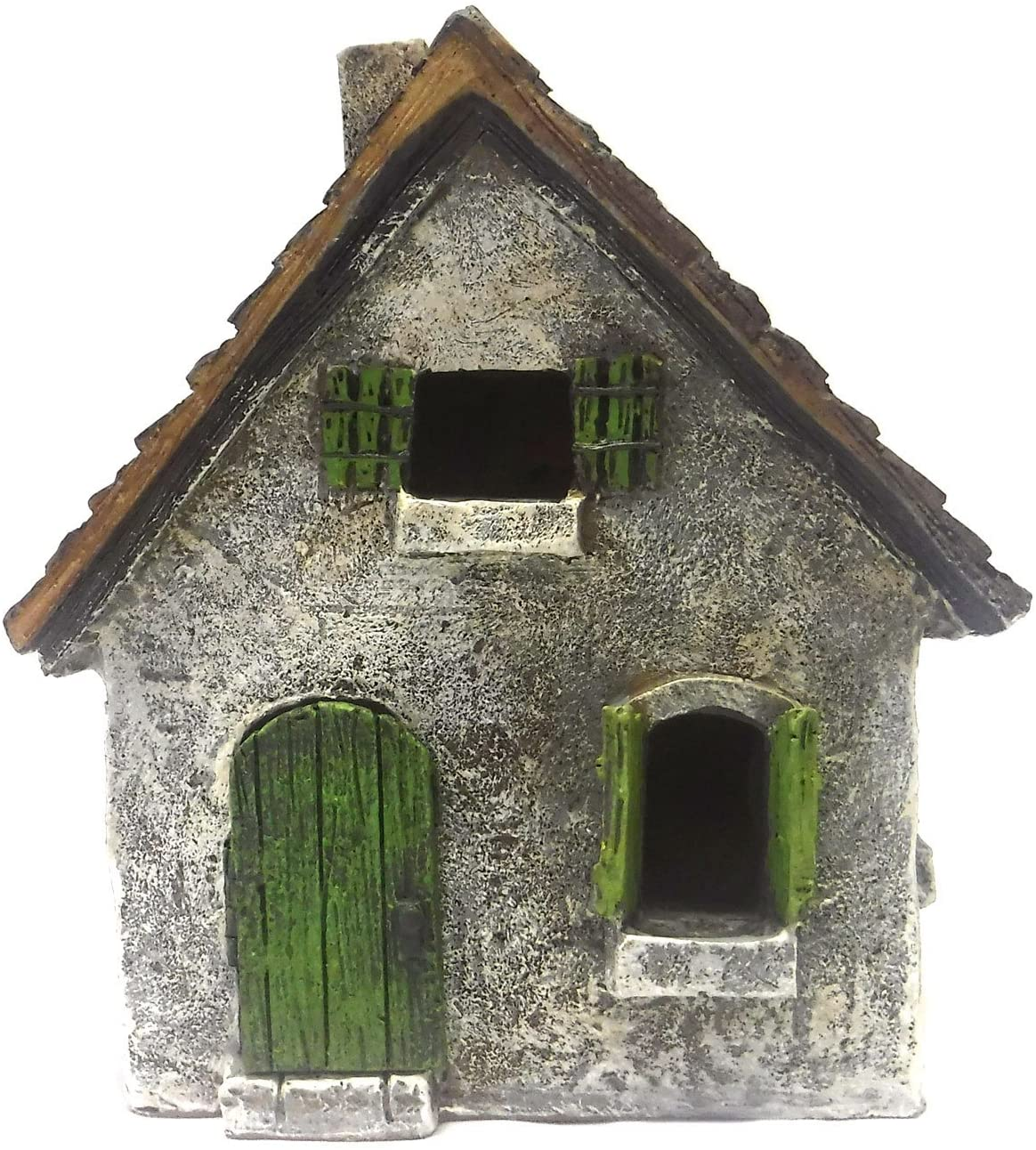 WFG Fairy Garden House-Morning Glory Cottage with Swinging Door