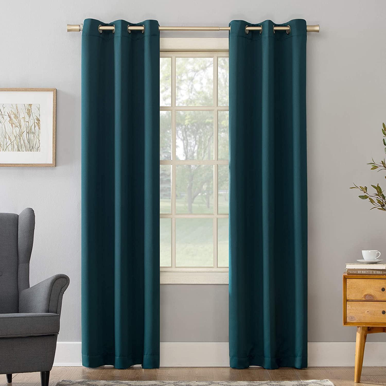 Sun Zero Becca Energy Efficient Grommet Curtain Panel, 40