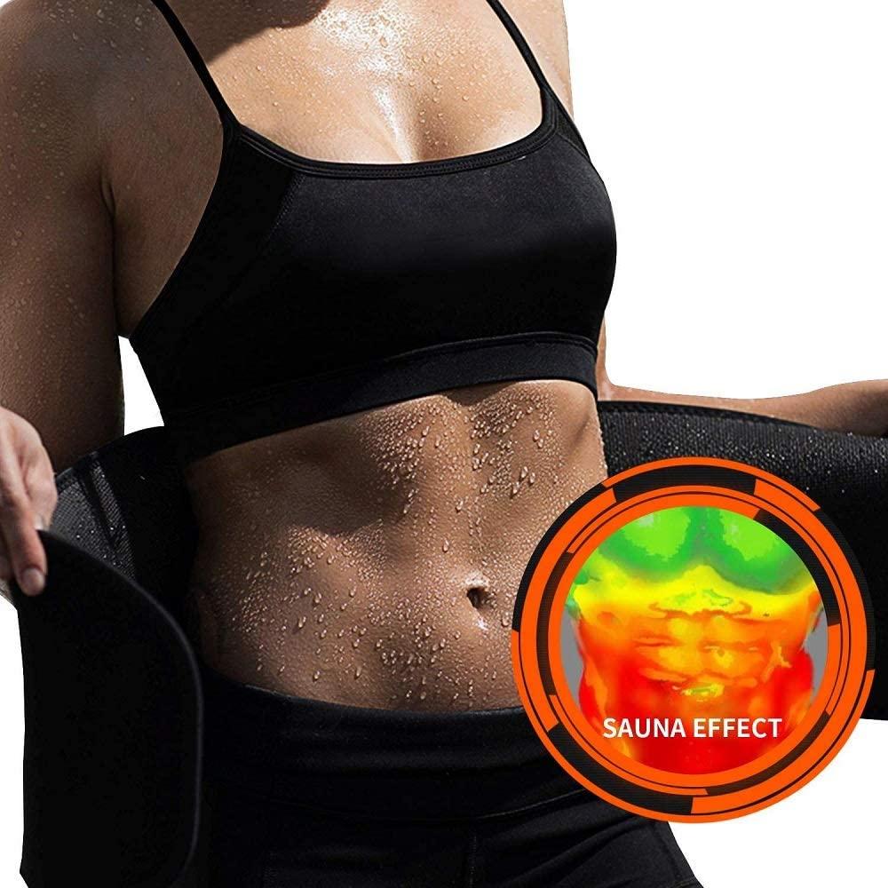 Y-Nut Adjustable Waist Trimmer Belt, Weight Lifting Belt,Sweat Belt for Weight Loss Women & Men, Slimming Belt,Running Belt,Back Support Belts, Sauna Belt, Back Support Belts,Unisex
