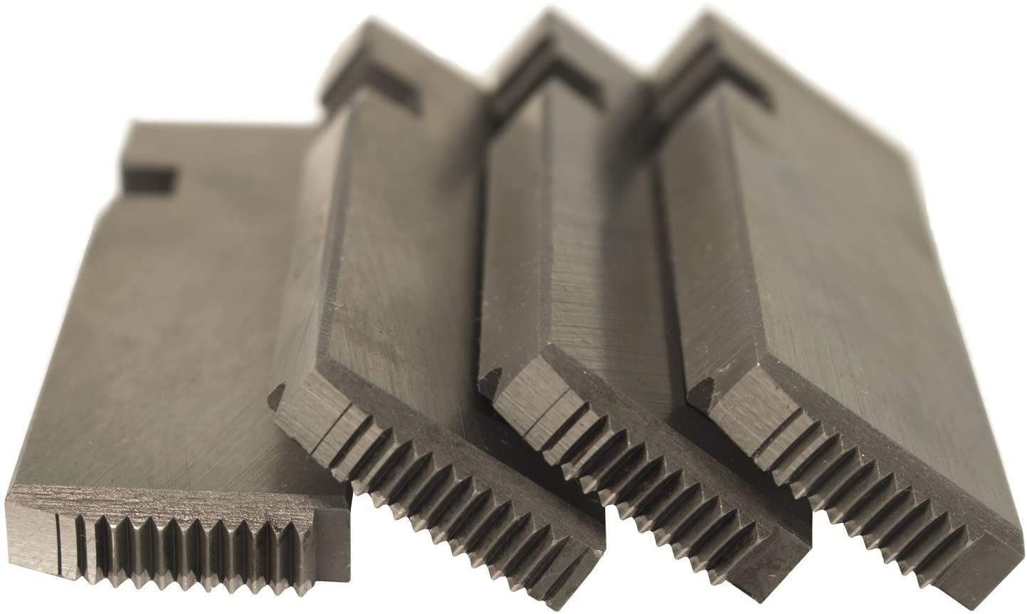 Steel Dragon Tools 47765 1/2in.-3/4in. HSS RH NPT Pipe Dies fits RIDGID 811A 815A