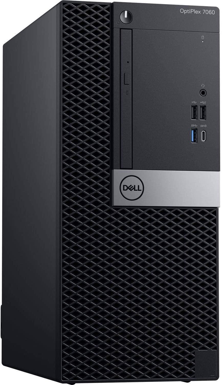 Dell Optiplex 7060 Mini Tower | Intel Quad Core i3-8300 3.7GHz | 16GB DDR4 + 16GB Optane Memory | 1TB HDD | DVD | Windows 10 Pro (Renewed)