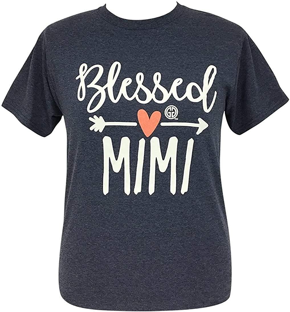 Girlie Girl Blessed Mimi Short Sleeve T-Shirt Adult