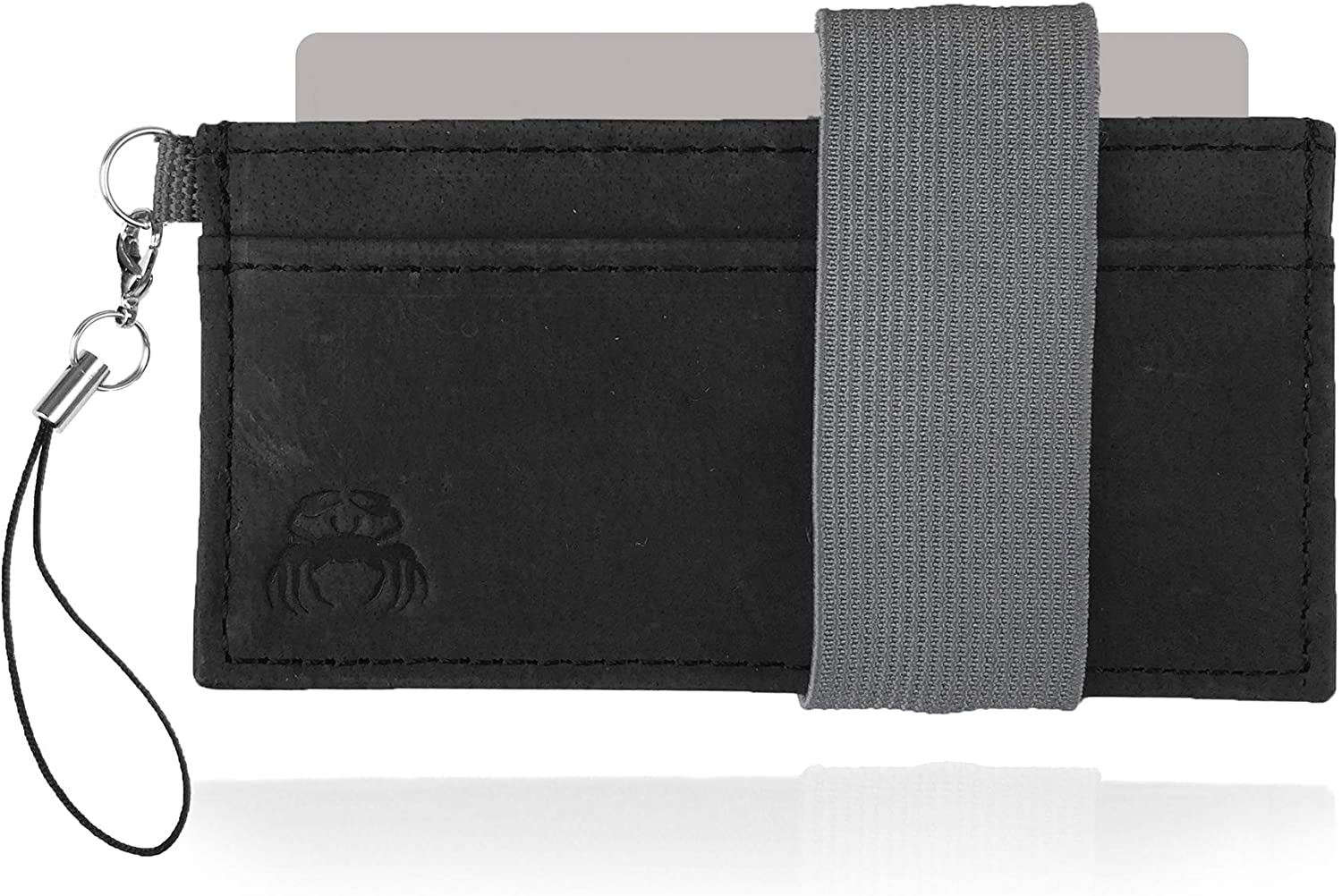 Crabby Gear - Front Pocket Wallet - Minimalist Wallet - Leather