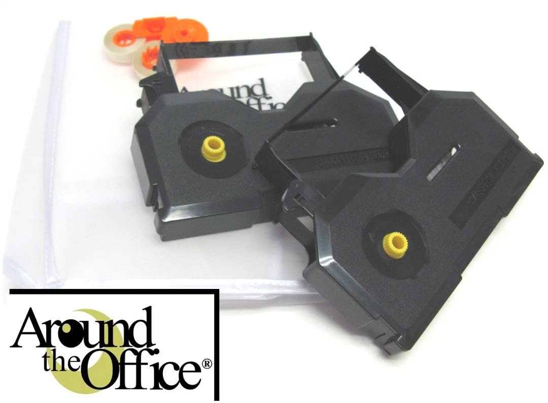 Around The Office Compatible NAKAJIMA Typewriter Ribbon & Correction Tape for NAKAJIMA 1300.This Package Includes 2 Typewriter Ribbons and 2 Lift Off Tapes