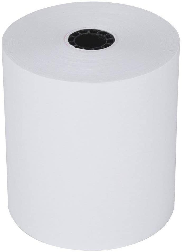 Thermal paper roll 3 1 8 x 230 AZT 381PD, AZT 804R Thermal Printers (50 Rolls) AQUILA Brand