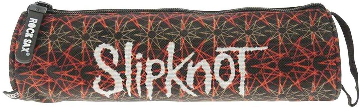 Rock Sax Slipknot Pentagram Pencil Case
