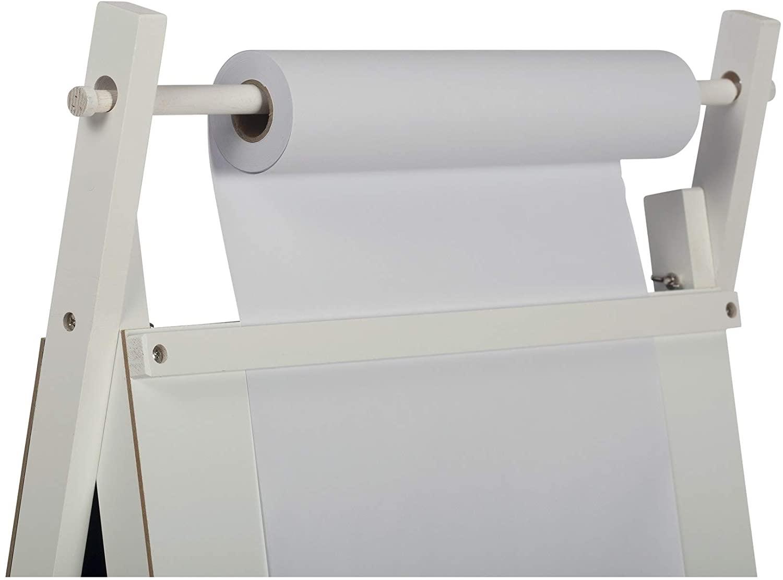 Paper Roll Refills (Set of 2) for Kids Art Easel Or Table - 12 X 75 White