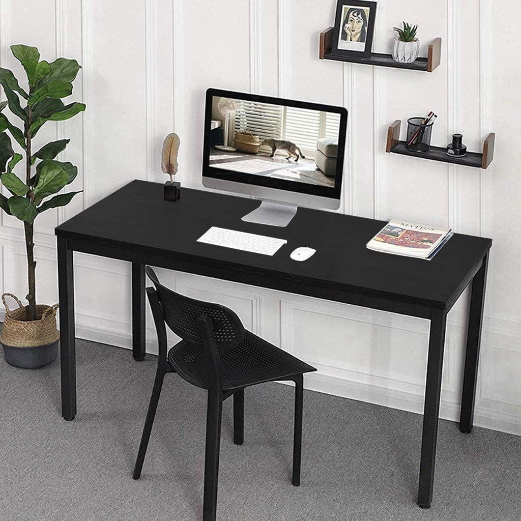 Modern Simples Desktop Computer Desk, Home Office Multipurpose Study Writing Table Computer Gaming Table Bedroom Laptop Study Table, Student Study Reading Writing Desk PC Laptop Table