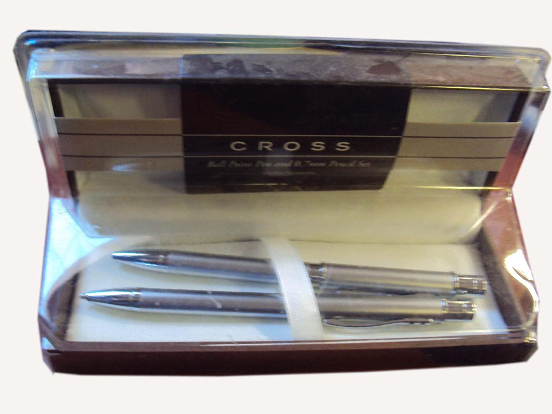 Cross Sable AT0361-6 Satin Chrome Pen and .7mm Pencil Set