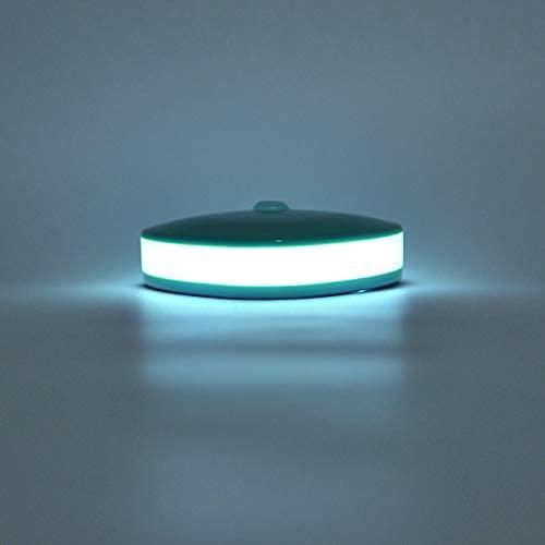 JR-LT002 Human Body Sensor Infrared Sensor Night Light Lamp works for Bedroom, Baby room,Parlor, wardrobe,garage (Mint Green)