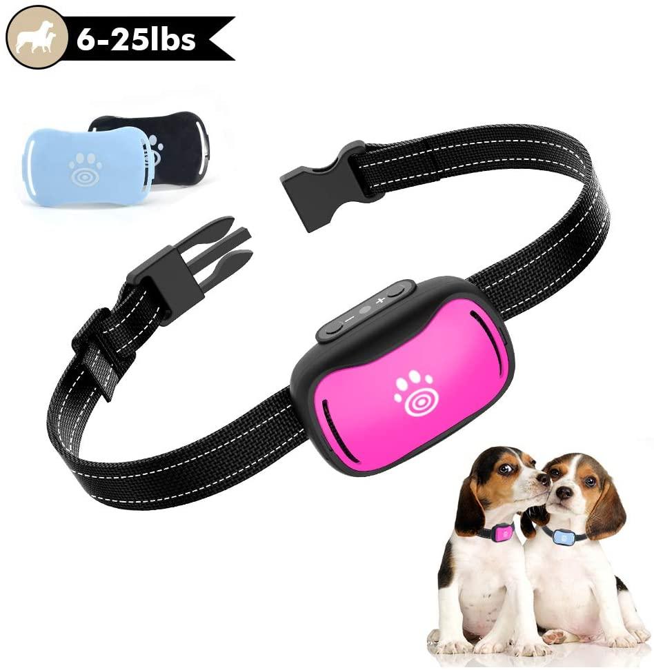 Small Dog Bark Collar, Humane Anti Bark Collar with Beep, Vibration, Premium Safe No Shock Collar, Dog Training Collar for Small, Medium Dogs