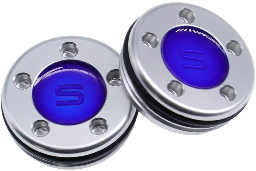 QHALEN Golf Putter Weights Blue Design(5g, 10g, 15g, 20g, 25g, 30g, 35g, 40g) for Scotty Cameron Select Newport Studio Design California GoLo Futura X Series Clubs Head