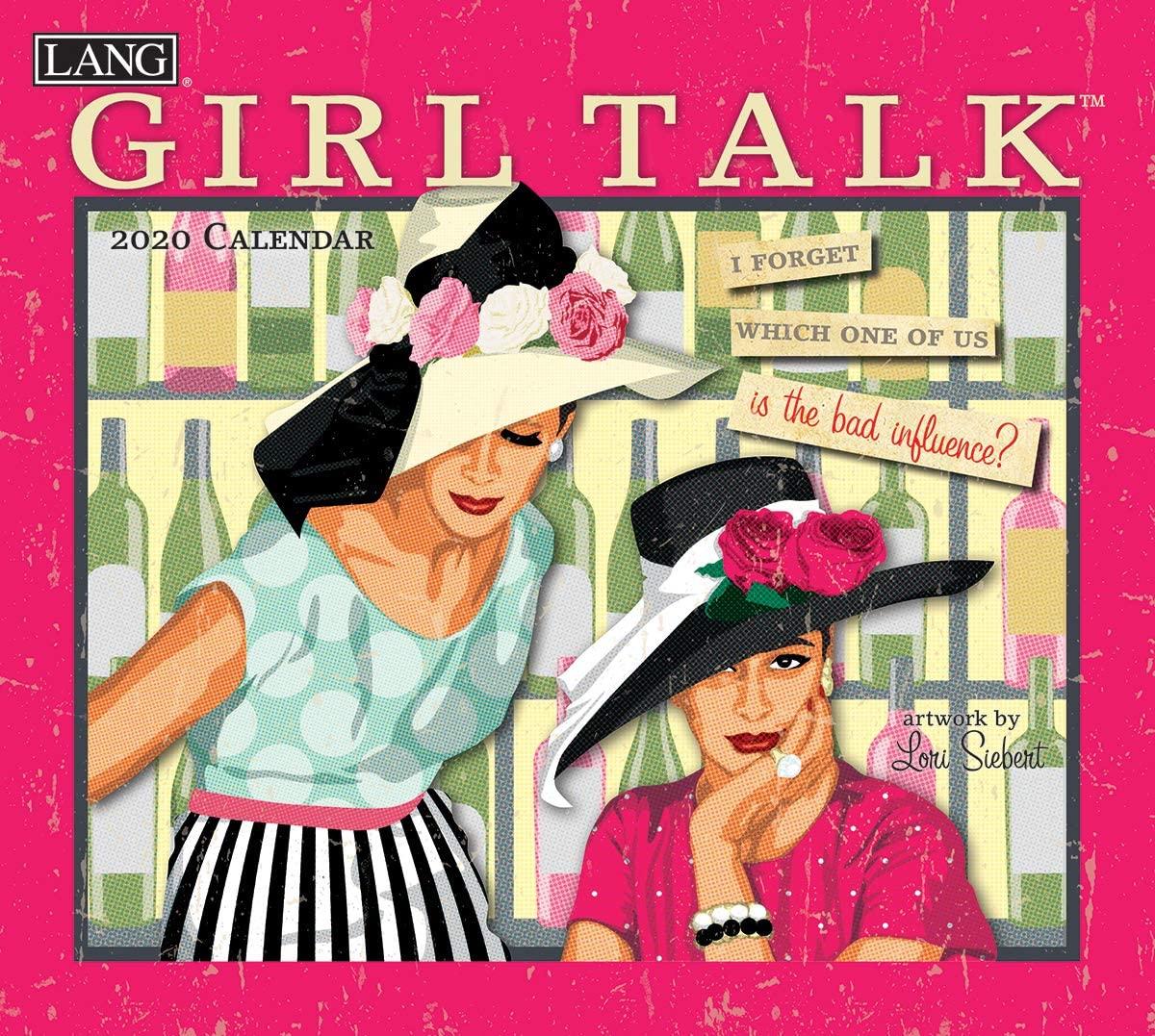 Lang Girl Talk 2020 Wall Calendar (20991001997)
